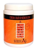 Показать информацию о Serical Carrot and linseed oil cream. 1000ml.