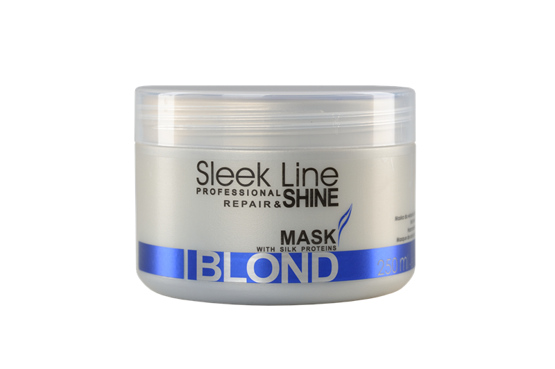 Stapiz Sleek Line Blond Mask 250 Ml From Hairshop Lv