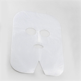 Show details for Disposable polyethylene mask for cosmetic procedures 100 pcs.