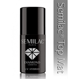Показать информацию о Diamond Cosmetics Semilac Top Mat UV Hybrid 7 ml.