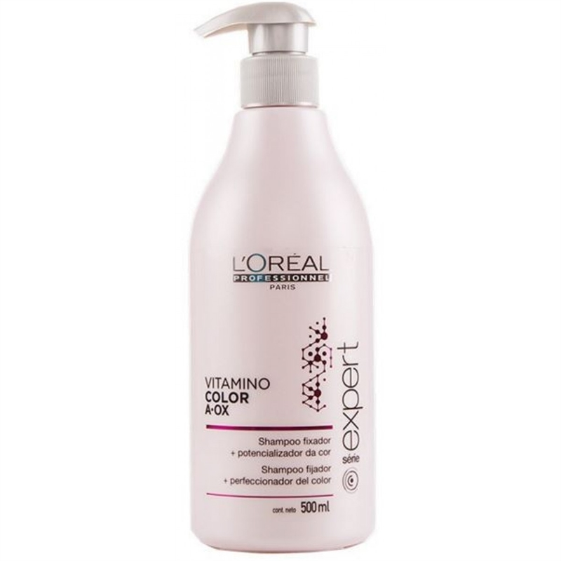 Loreal Se Vitamino Color A Ox Shampoo For Colored Hair 500 Ml From