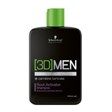 Vairāk informācijas par Schwarzkopf Professional 3D Men Root Activator Shampoo