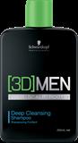 Vairāk informācijas par Schwarzkopf Professional 3D Men Deep Cleansing Shampoo