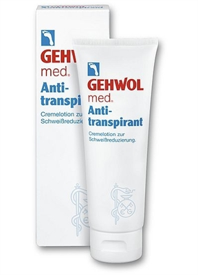 Picture of GEHWOL Med Anti-Perspirant Cream Lotion 125ml