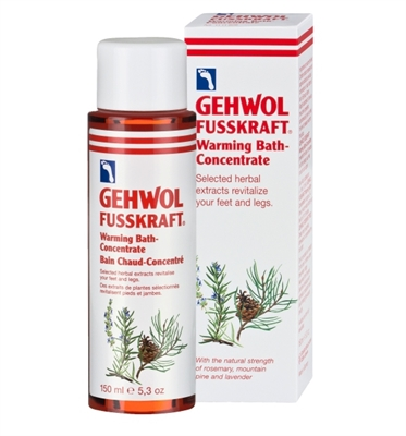 Picture of Gehwol Fusskraft Warming Bath Concentrate 150ml
