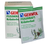 Показать информацию о  Gehwol Fusskraft Herbal Bath 10 pcs 25g