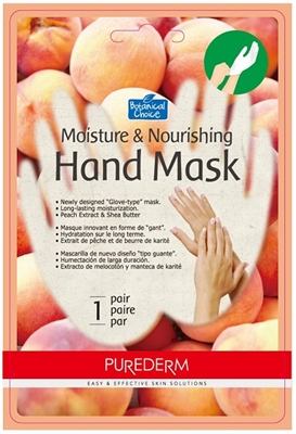 "Picture of Purederm Moisture & Nourishing Hand Mask ""Peach"""