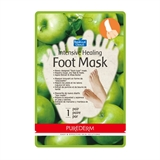 Показать информацию о Purederm Intensive Healing Foot mask Apple