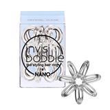 Vairāk informācijas par INVISIBOBBLE NANO Crystal Clear – 3 pcs.