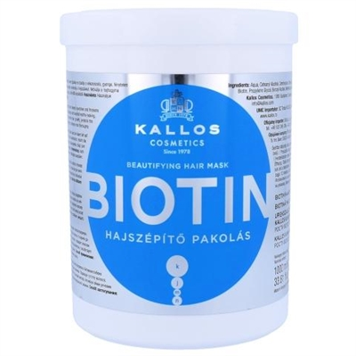 Picture of KALLOS BIOTIN BEAUTIFYING HAIR MASK 1000ml