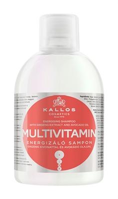 Picture of KALLOS Multivitamin Energising Shampoo 1000ml