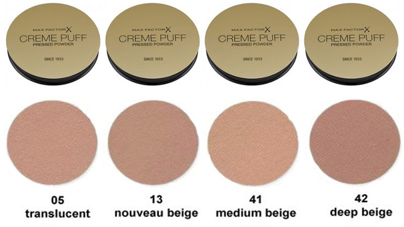 ... Picture of MAX FACTOR CREME PUFF
