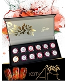 Show details for SEMILAC Semi Art Set 12 pcs