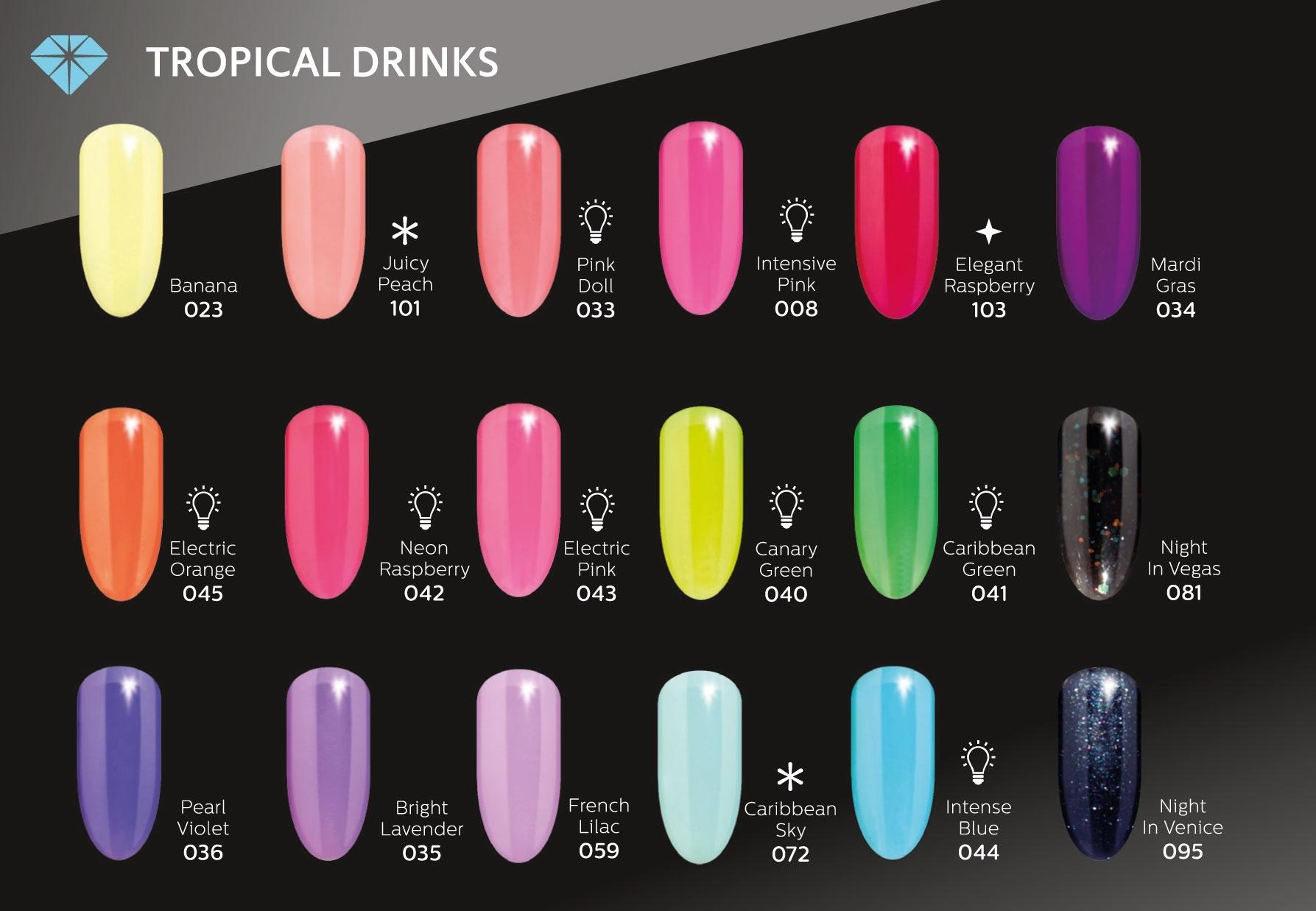 Diamond Cosmetics Semilac Nail Polish 7 Ml