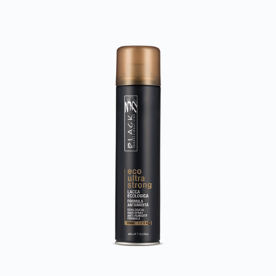 Picture of BLACK ECO ULTRA STRONG HAIRSPRAY 400 ML