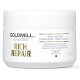 Показать информацию о Goldwell Dualsenses Rich Repair 60sec mask 200 ml