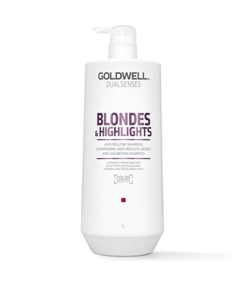 Picture of GOLDWELL DUALSENSES BLONDES&HIGHLIGHTS ANTI-YELLOW SHAMPOO 1000 ML
