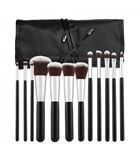 Показать информацию о TOOLS FOR BEAUTY SET OF 12 MAKE-UP BRUSHES - BLACK