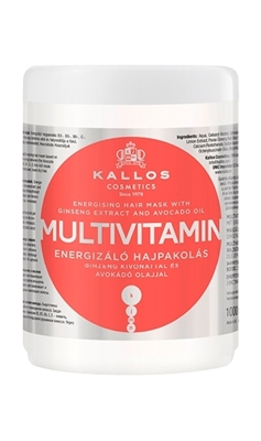 Picture of KALLOS MULTIVITAMIN HAIR MASK 1000 ml