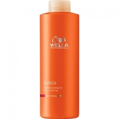 Picture of WELLA PROFESSIONALS ENRICH VOLUMISING SHAMPOO FOR FINE HAIR 1000 ML