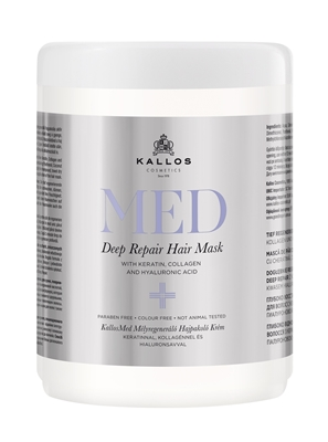 Picture of KALLOS COSMETICS MED DEEP REPAIR HAIR MASK 1000 ML