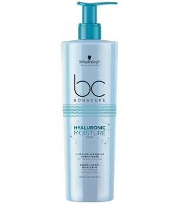 Picture of SCHWARZKOPF HYALURONIC MOISTURE MICELLAR CLEANSING CONDITIONER 500 ML