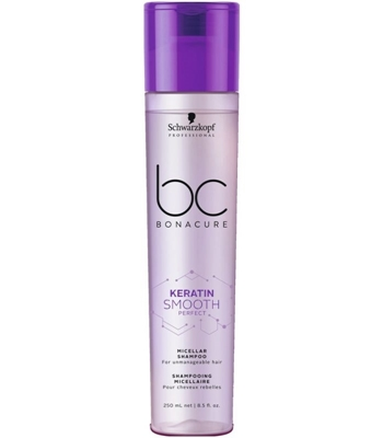 Picture of SCHWARZKOPF BC KERATIN SMOOTH PERFECT MICELLAR SHAMPOO 250 ML
