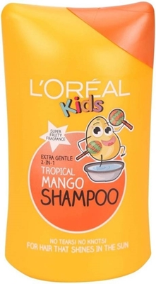 Picture of L`OREAL KIDS TROPICAL MANGO SHAMPOO 250 ML