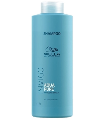 Picture of WELLA PROFESSIONALS INVIGO AQUA PURE SHAMPOO 1000 ML