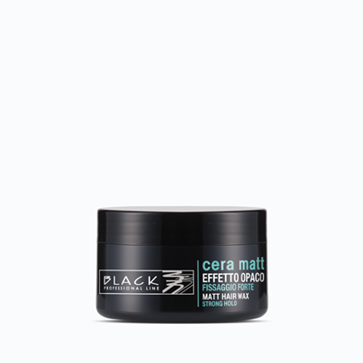 Picture of BLACK PROFESSIONAL LINE MATT HAIR WAX 100 ML