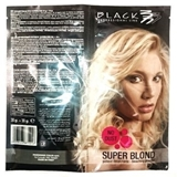 Показать информацию о BLACK PROFESSIONAL LINE SUPER BLOND BLEACHING POWDER 30+30G