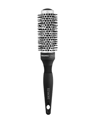 Picture of LUSSONI ROUND SILVER STYLING BRUSH 33MM
