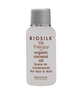 Picture of BIOSILK SILK THERAPY ORGANIC COCONUT OIL LEAVE-IN TREATMENT 15ML