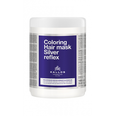 Picture of KALLOS COLORING HAIR MASK SILVER REFLEX 1000ML