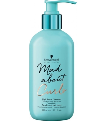 Picture of SCHWARZKOPF PROFESSIONAL MAD ABOUT CURLS HIGH FOAM CLEANSER 300ML