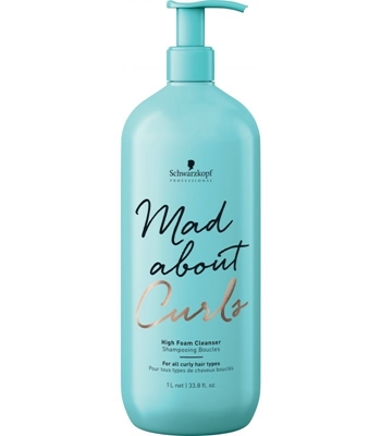 Picture of SCHWARZKOPF PROFESSIONAL MAD ABOUT CURLS HIGH FOAM CLEANSER 1000ML
