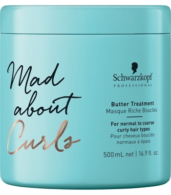 Picture of SCHWARZKOPF PROFESSIONAL MAD ABOUT CURLS BUTTER TREATMENT 500ML