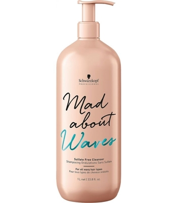 Picture of SCHWARZKOPF PROFESSIONAL MAD ABOUT WAVES CLEANSER 1000ML