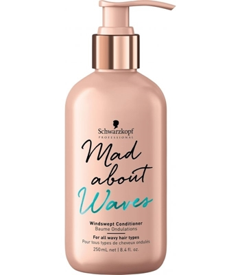 Picture of SCHWARZKOPF PROFESSIONAL MAD ABOUT WAVES WINDSWEPT CONDITIONER 250ML