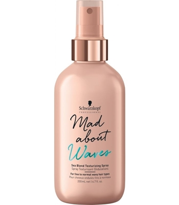 Picture of SCHWARZKOPF PROFESSIONAL MAD ABOUT WAVES TEXTURIZING SPRAY 200ML