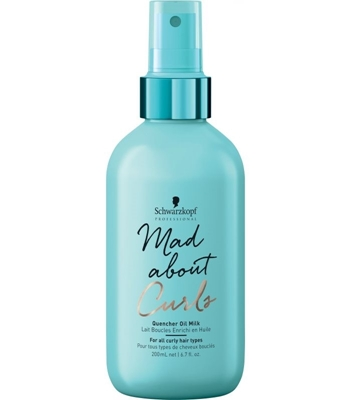 Picture of SCHWARZKOPF PROFESSIONAL MAD ABOUT CURLS OIL MILK 200ML
