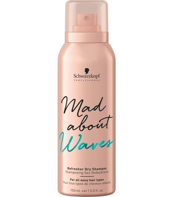 Picture of SCHWARZKOPF PROFESSIONAL MAD ABOUT WAVES REFRESHER DRY SHAMPOO 150ML