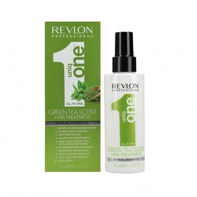 Picture of REVLON GREEN TEA HAIR TREATMENT 150ml