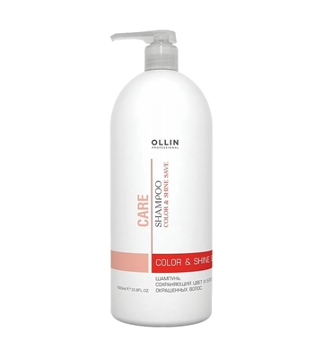 Picture of OLLIN CARE COLOR AND SHINE SHAMPOO 1000ML