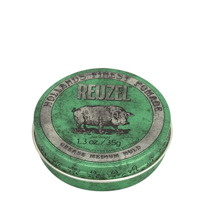 Picture of REUZEL GREEN MEDIUM HOLD GREASE 35G