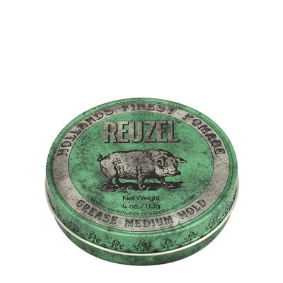 Picture of REUZEL GREEN MEDIUM HOLD GREASE 113G
