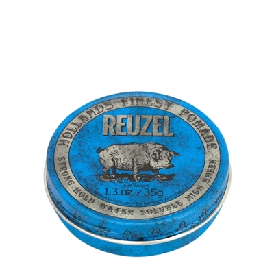 Picture of REUZEL BLUE STRONG HOLD HIGH SHEEN POMADE 35G