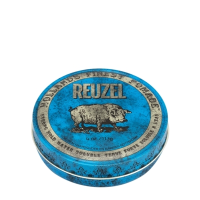Picture of REUZEL BLUE STRONG HOLD HIGH SHEEN POMADE 113G