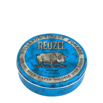Picture of REUZEL BLUE STRONG HOLD HIGH SHEEN POMADE 340G