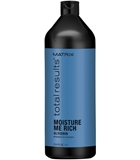 Показать информацию о MATRIX TOTAL RESULTS MOISTURE ME RICH SHAMPOO 1000ML